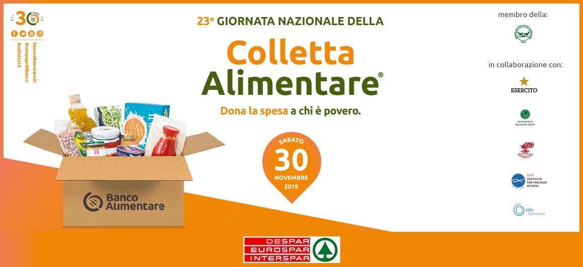 23a giornata nazionale della Colletta Alimentare. Dona la spesa a chi è povero.