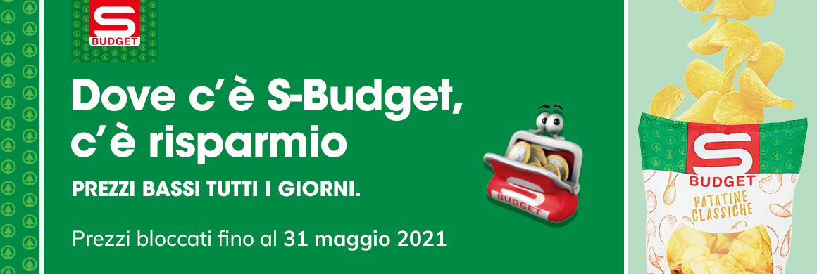 Dove c'è S-Budget, c'è risparmio