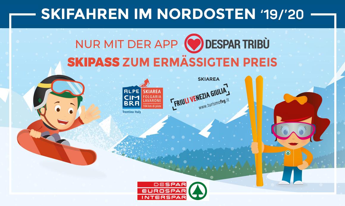 Skifahren in Nordostitalien